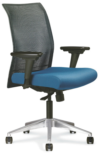All Seating Zip Mesh Office Chair [95040] -3