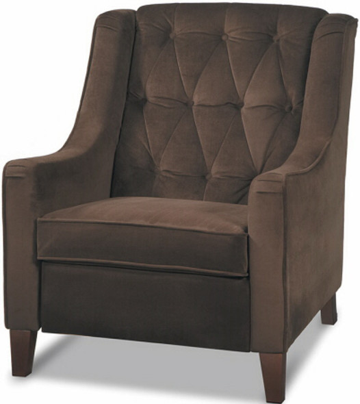 Avenue Six Button Tufted Arm Chair [CVS51] -2