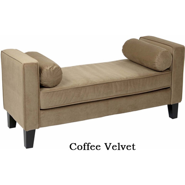 Avenue Six Curves Upholstered Bench [CVS20] -4