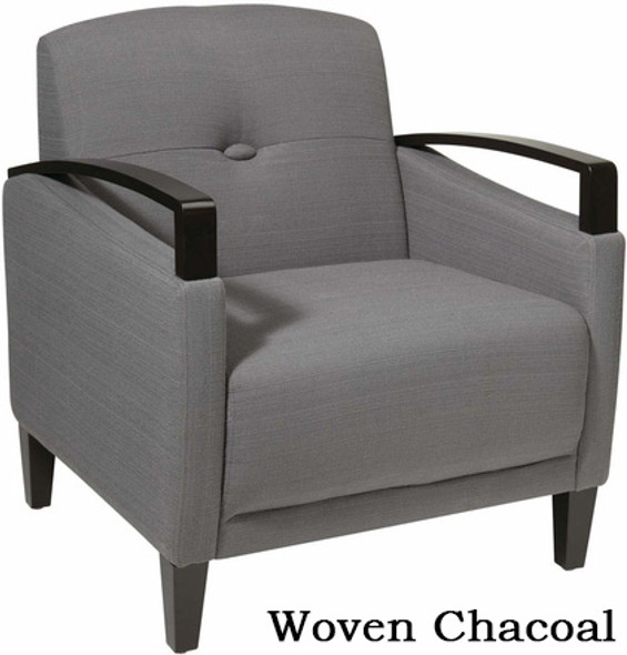 Avenue Six Main Street Upholstered Arm Chair [MST51] -1