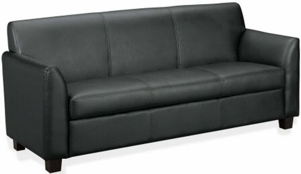 Basyx Black Leather Sofa [VL873] -1