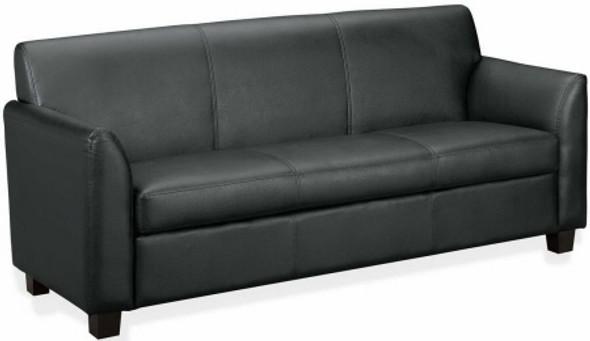 Basyx Black Leather Sofa [VL873] -1
