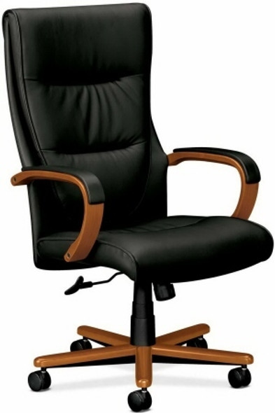 Basyx Executive High Back Leather Office Chair [VL844] -2