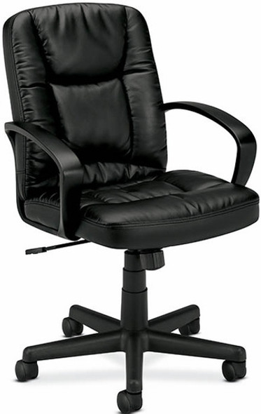 Basyx Leather Mid Back Chair [VL171] -1