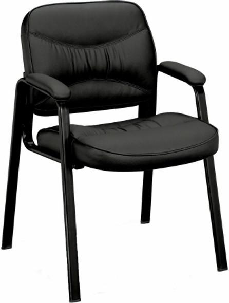 Basyx Leg Base Leather Side Chair [VL643] -1