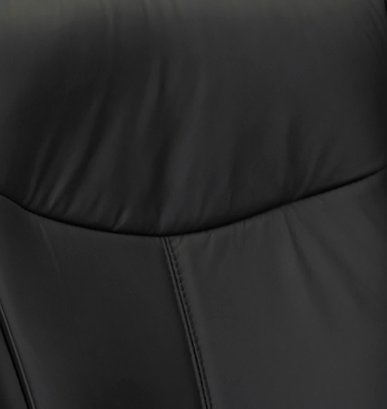 Black Leather Mercado Office Task Chair [2528] -2