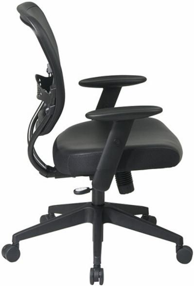 Office Star Black Vinyl Office Chair [5500V] -2