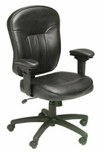 Boss Adjustable LeatherPlus™ Task Chair [B1561] -1