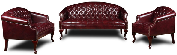 Boss Button Tufted Traditional Arm Chair [BR99801] -2