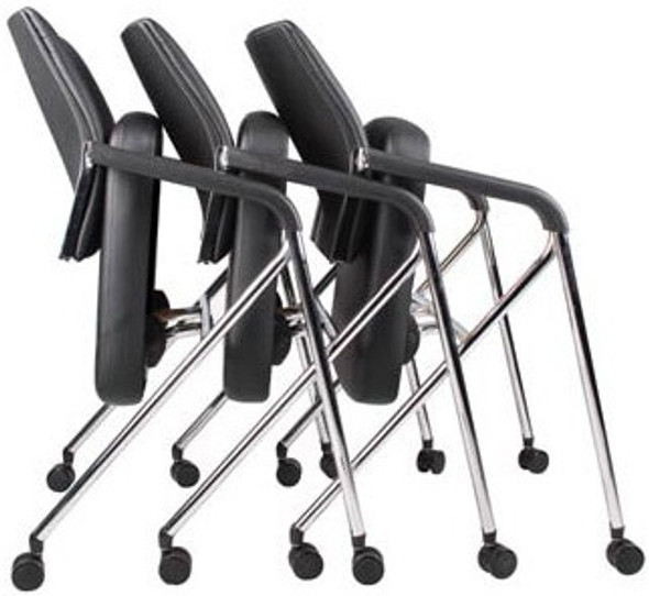 Boss CaressoftPlus™ Padded Folding Chairs [B1800] -2