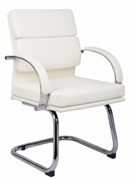 Boss Contemporary Side Chair with Chrome Frame [B9409] -1