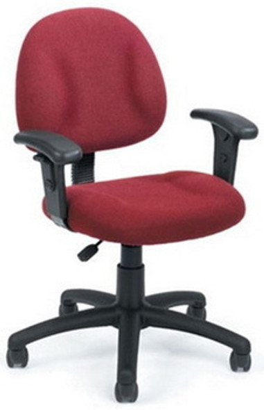 Boss Fabric Upholstered Computer Desk Chair [B315] -2