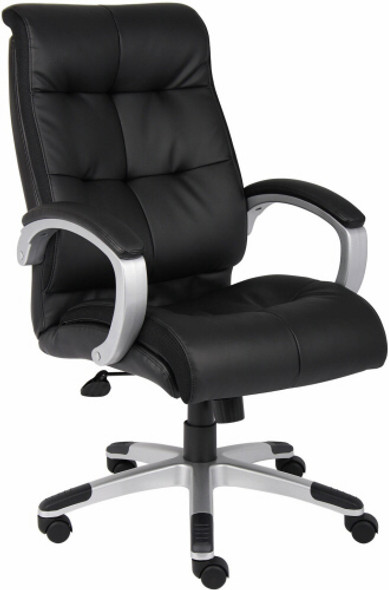 Boss High Back LeatherPlus Office Chair [B8771] -2