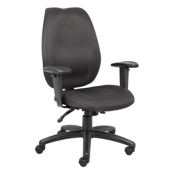 Boss Contoured Ergonomic Office Chair [B1002]