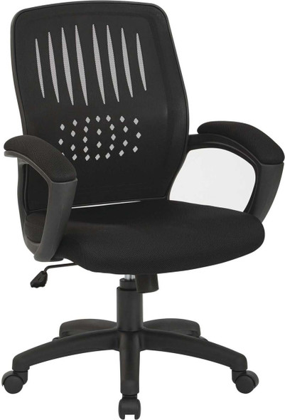 Contoured Mesh Back Visitor Chair [EM5972V] -2