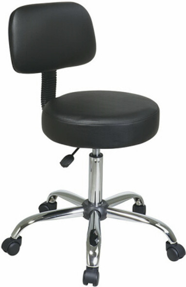 Vinyl Custom Medical Stool [ST235V] -1