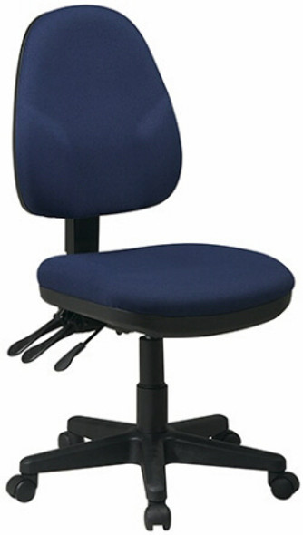 Dual Function Adjustable Ergonomic Chair [36420] -1
