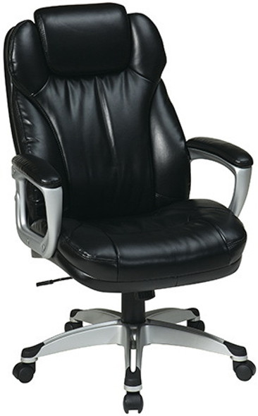Eco Leather Office Chair with Built-In Headrest [ECH85801] -2