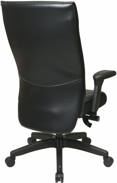 Office Star Executive Cow Split Leather Chair [9370-55NC17U] -3