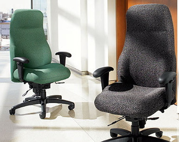 Executive High Back Heavy Duty Office Chair [2438-18] -2