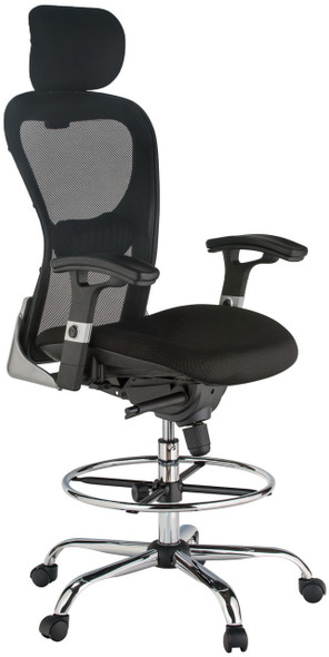 Harwick Deluxe Mesh Drafting Stool [3052D] -2