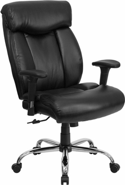 Hercules Big and Tall Leather Chair [GO-1235-BK-LEA-GG] -2