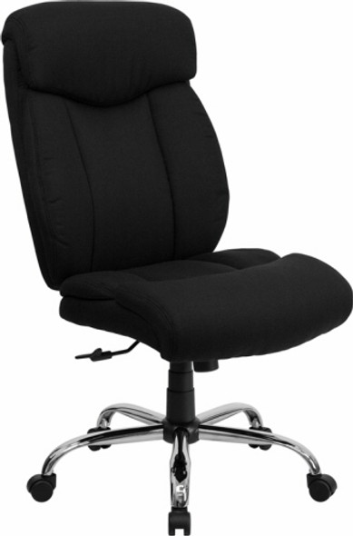 Hercules Black Fabric Big and Tall Chair [GO-1235-BK-FAB-GG] -1