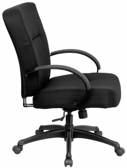Hercules Series 400lb. Capacity Big and Tall Chair with Wide Seat [WL-723ATG-GG] -2