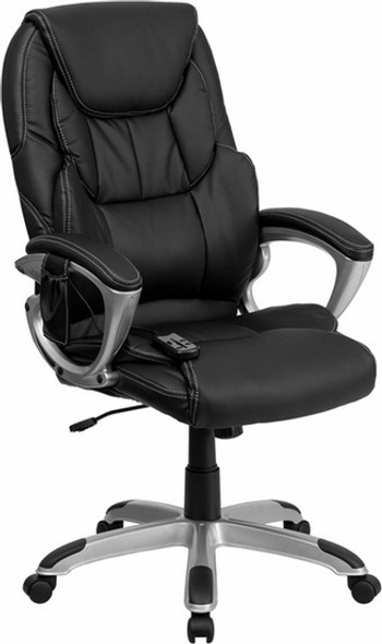 Leather High Back Executive Massage Chair [BT-9806HP-2-GG] -1