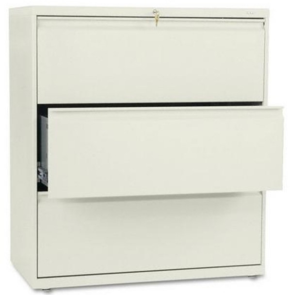 """HON 36"""" 3 Drawer Lateral File Cabinet [883L] -1"""