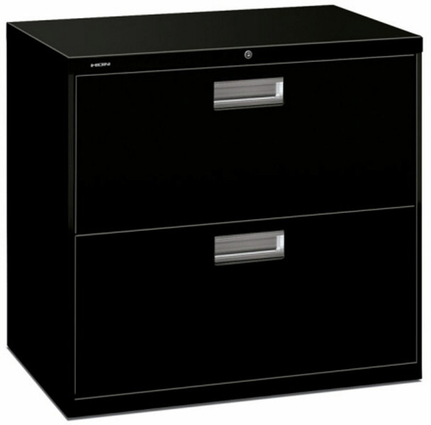 """HON 600 Series 30"""" Lateral 2 Drawer File Cabinet [672L] -1"""