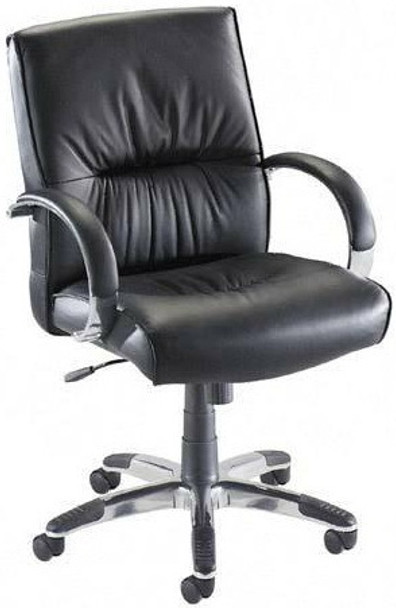 Lorell Leather Managers Chair [60503] -1