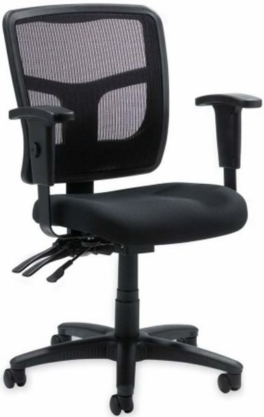 Lorell Mesh Mid Back Office Chair [86201] -1
