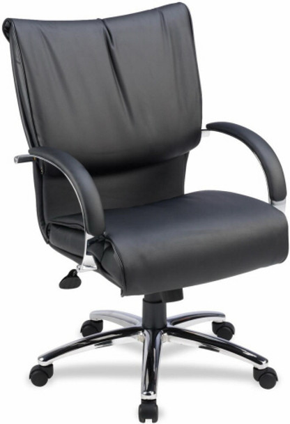Lorell Dacron Filled Plush Executive Chair [69515] -1