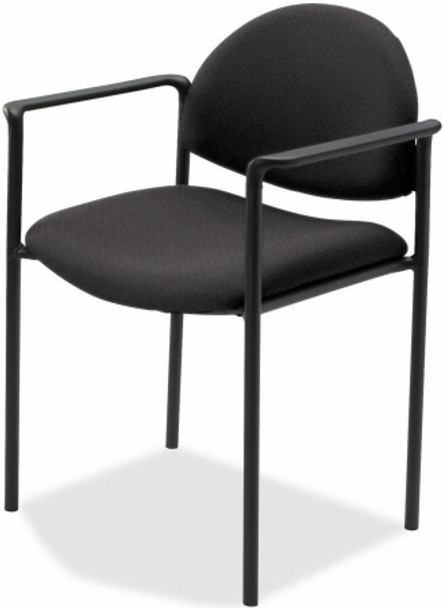 Lorell Upholstered Stacking Chairs [69508] -1