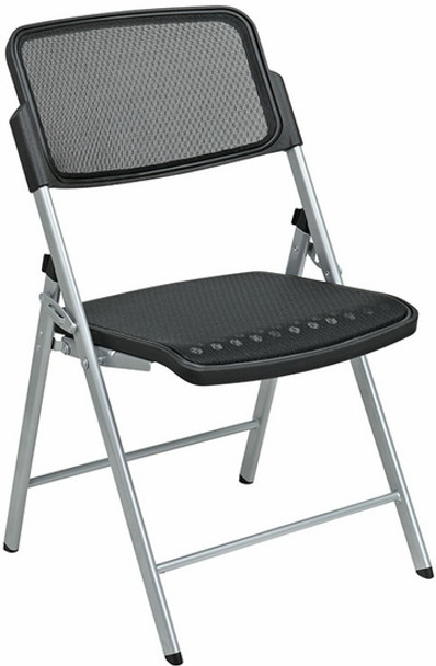 Matrix Full Mesh Folding Chairs [81608] -1
