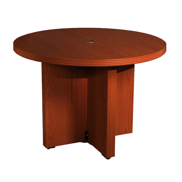 Mayline Aberdeen Round Conference Table [ACTR42]