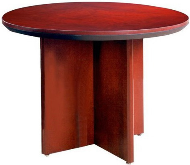 Mayline Corsica Series Round Conference Table [CTRND] -1