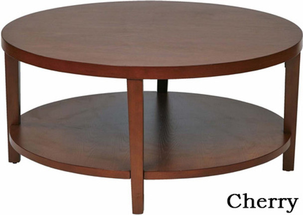 "Merge 36"" Round Wood Coffee Table [MRG12] -1"
