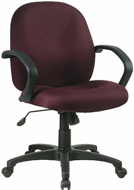 Mid Back Upholstered Desk Chair [EX2651] -1