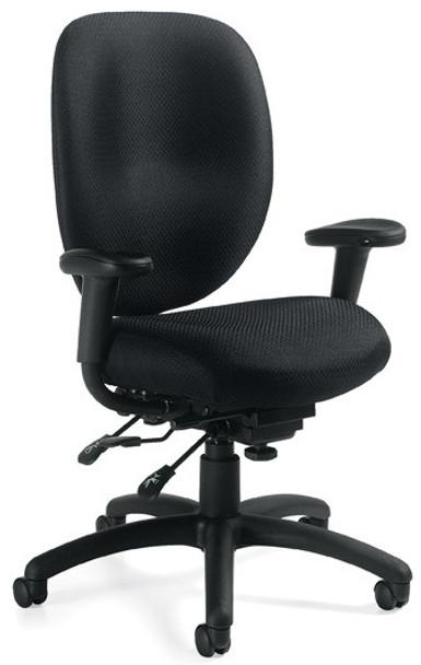 Multi-Tilt Ergonomic Office Chair [11653] -1