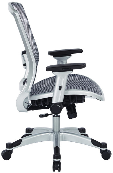 Office Star All Mesh Desk Chair with Flip Arms [317-66C61F6] -1