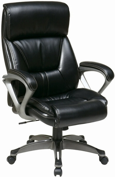 Office Star Eco Leather High Back Chair [ECH89307] -1