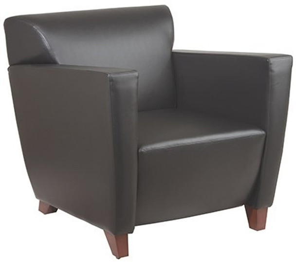 Office Star Fabric or Leather Lounge Chair [SL8471] -2