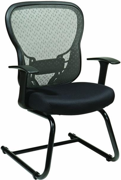 Office Star Mesh Back Sled Base Guest Chair [529-3R2V30] -1
