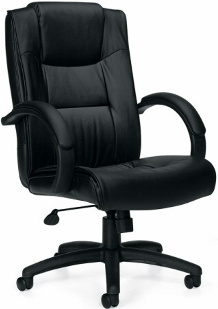 Offices To Go™ Luxhide Leather Executive Chair [11618B] -1