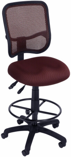 OFM Deluxe Screen Mesh Drafting Chair [130-DK] -1