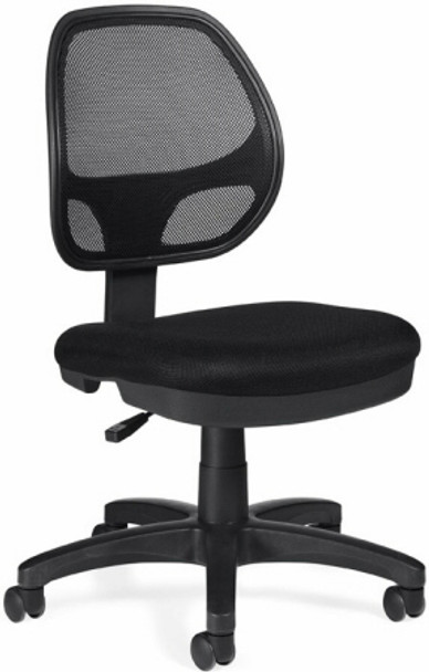 OTG Armless Mesh Back Task Chair [11642] -1