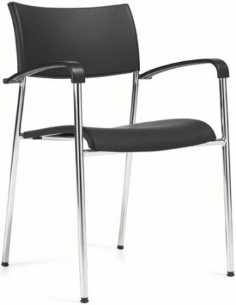 OTG Plastic Stack Chair with Arms [1210] -1