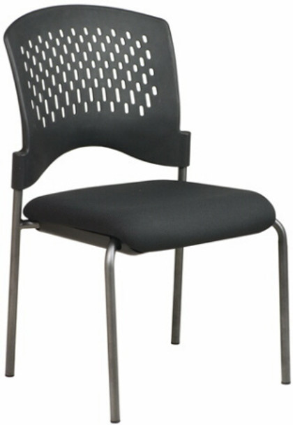 Office Star Armless Plastic Stackable Chair [8620] -1